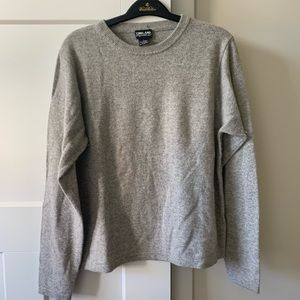 Grey Kirkland soft sweater